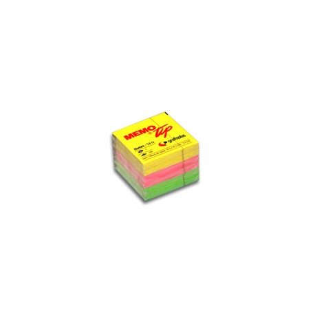 12-blocs-de-notes-adhésives-Memo-Tip-NEON-assorties-38,1mmX50.8m