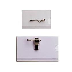 Boîte-de-50-badges-avec-clip-et-épingle