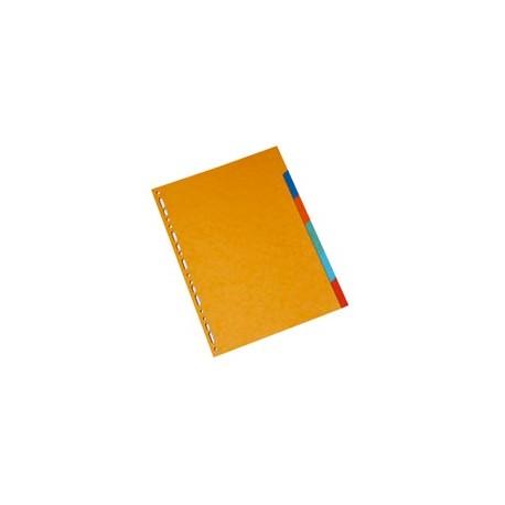Intercalaires-carte-lustrée-3/10ème-A4