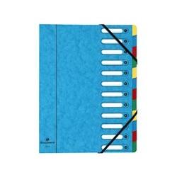 Trieur-carte-lustrée-12-compartiments-exacompta-6/10ème