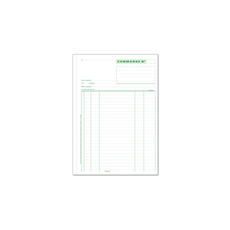 Manifold--Commandes-EXACOMPTA-50-Duplicata
