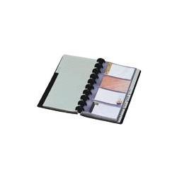 Porte-cartes-de-visite-à-géodes-+-répertoire-alphabétique