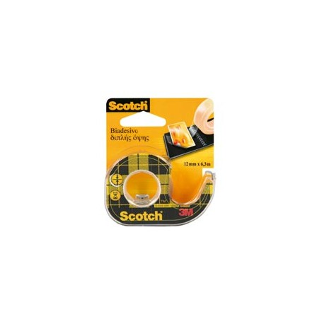 Ruban-adhésif-double-face-incolore---12-mm-x-6,3-m---Scotch