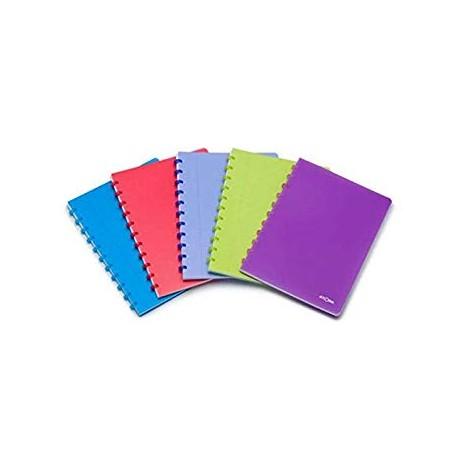 Atoma Cahier 5x5 A4+ avec pochettes et intercalaires