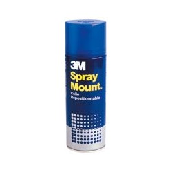 Bombe colle repositionnable Spray Mount 3M