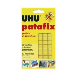 80 pastilles de Patafix UHU jaune